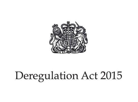 deregulation act 2015 DA 2015
