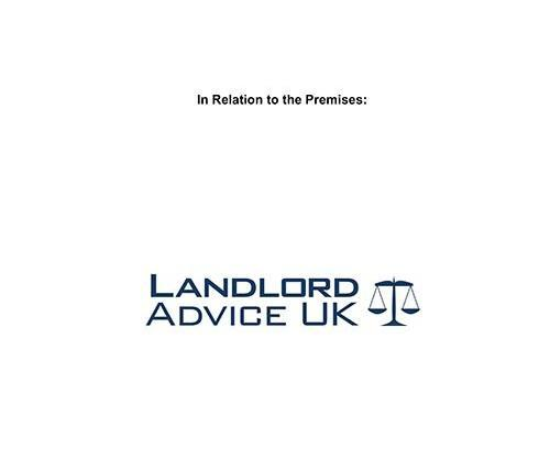 Landlord Advice UK Excluded License Agreement