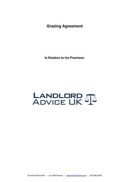 Landlord Advice UK Grazing Agreement