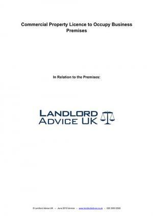 Landlord Advice UK Licence to Occupy Business Premises
